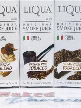 LIQUA e-Liquids - Tobaccos