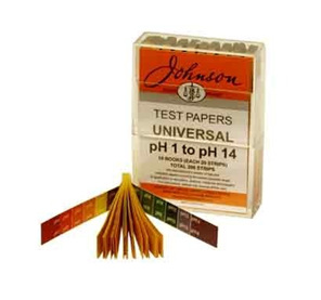 Litmus Papers - Universal Indicator Papers - pH 1-14