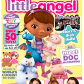 Little Angel Kids Girls Mini Magazine