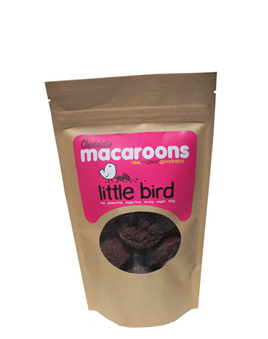 Little Bird Organics Chocolate Macaroons 5 pack