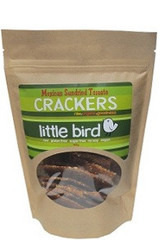 Little Bird Organics Mexican Sundried Tomato Almond Crackers 100gm
