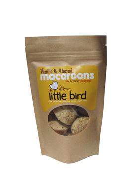 Little Bird Organics Vanilla Macaroons