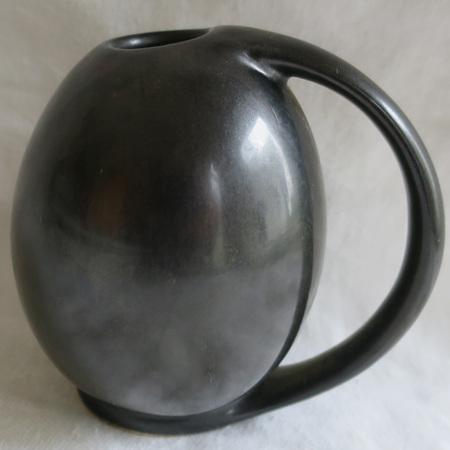Little black vase