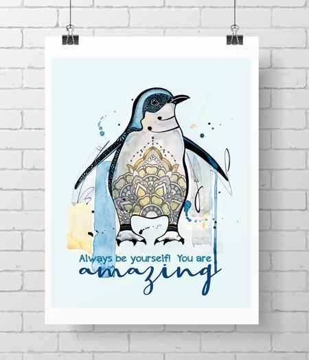 little blue penguin quote