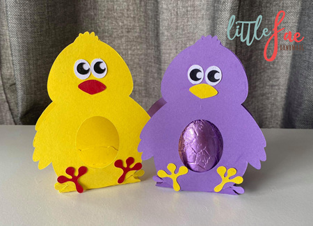 Little Chick Easter Egg Holder