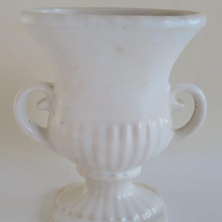 Little cream urn