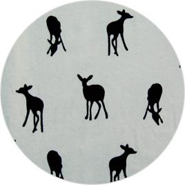 """""""Little Deer"""", 100% Cotton Knit                        190 gsm"""