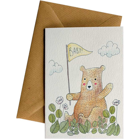 Little Difference Baby Bear Card