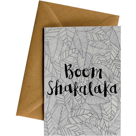 Little Difference Boom Shakalaka Card