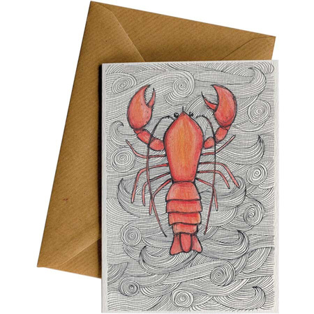Little Difference Crayfish Card