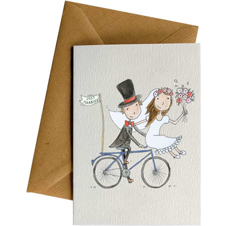 Little Difference Just Married Card