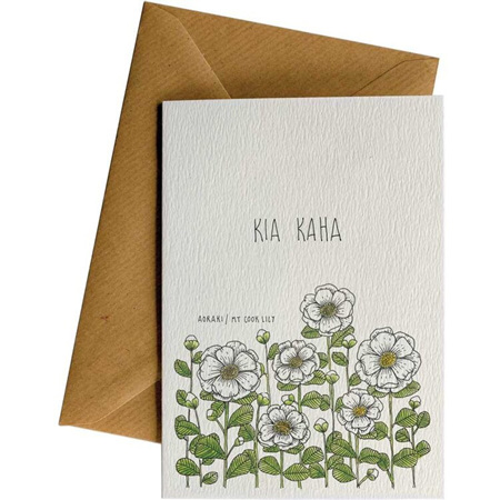 Little Difference Kia Kaha Lily Card