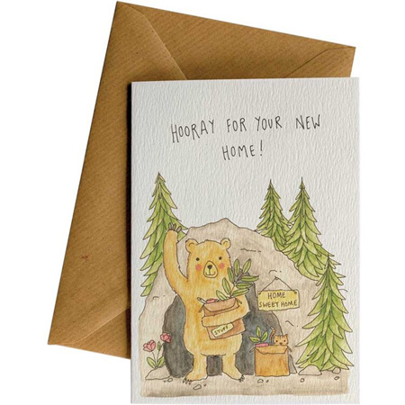 Little Difference New Home Bear Card