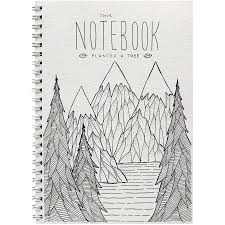Little Difference Notebook - Mountain Trees