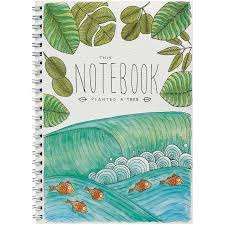 Little Difference Notebook - Wave Fish