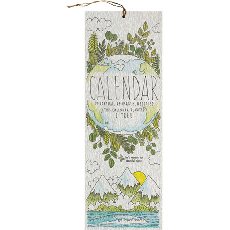 Little Difference Perpetual Calendar - Earth