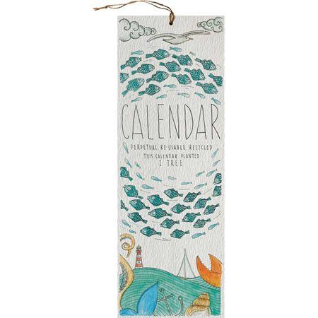 Little Difference Perpetual Calendar - Seaside