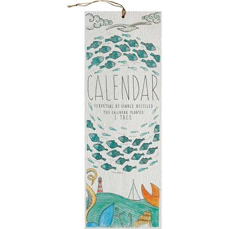 Little Difference Perpetual Calendar - Seaside