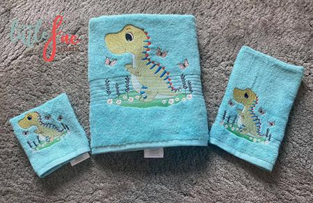 Little Dinosaur Bath Time Set
