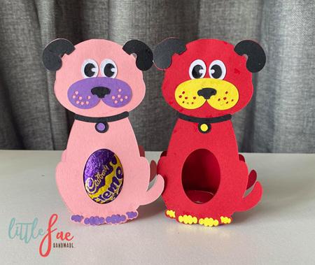 Little Dog Easter Egg Holder
