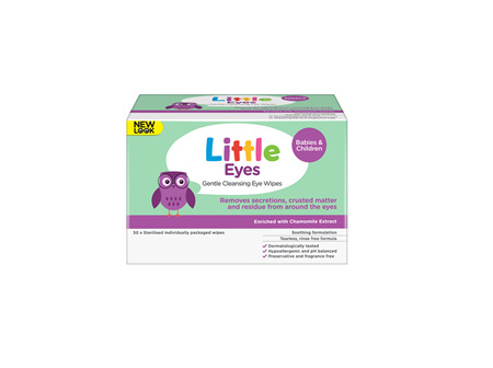 Little Eyes Cleansing Wipes 30
