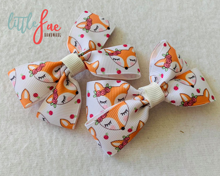 Little Foxes Hair Bows