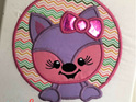 Little Girl Fox Wall Hanging