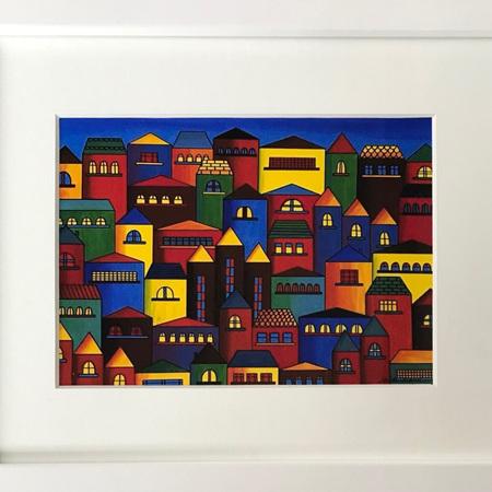 Little Houses - Medium Frame