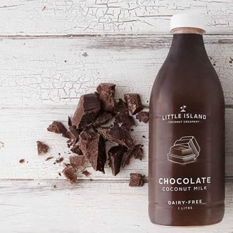 Little Island Coconut Milk Chocolate 1ltr