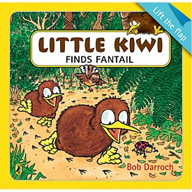 Little Kiwi Finds Fantail
