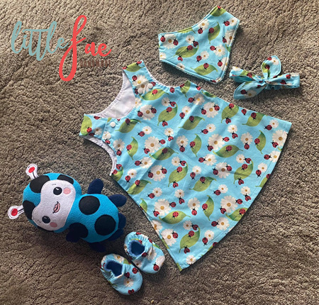 Little Lady Bug Gift Set Size 6months