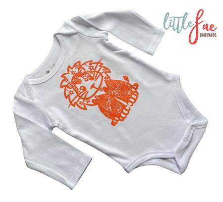 Little Lion Baby Body Suit