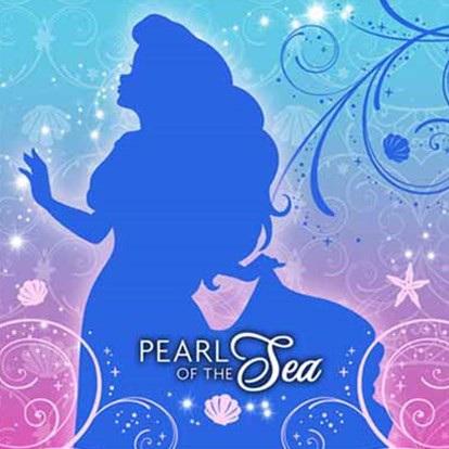 Little Mermaid - Pearl of the Sea Napkins