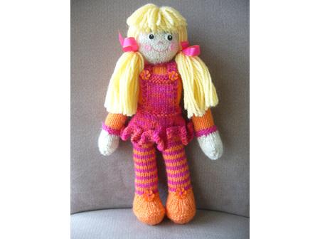 Little Miss Doll Pattern