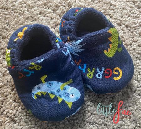 Little Monster Baby Slipper Shoes