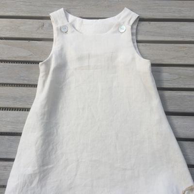 Little Mushroom Linen Dress