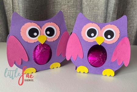 Little Owl Easter Egg Holder