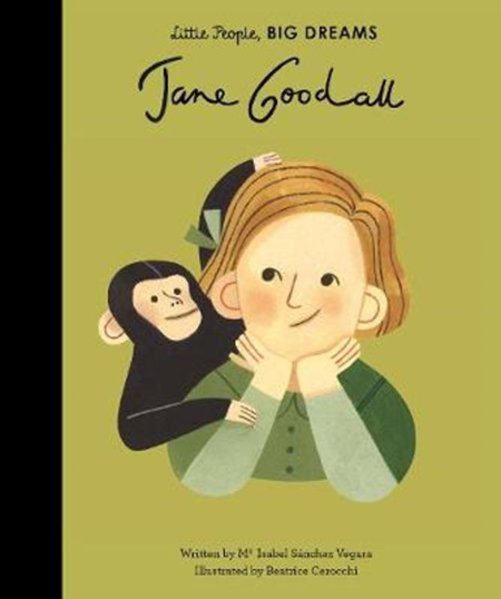 Little people, Big Dreams: Jane Goodall (PRE-ORDER ONLY)