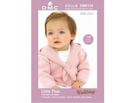 Little Pixie Hooded Cardigan Hollie Pattern