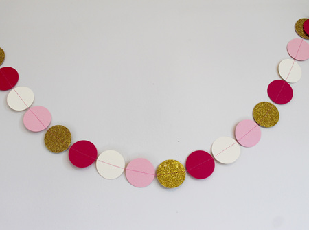 Little Princess circle garland