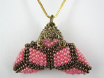 Little Purse Pendant Kit Pink Diamond