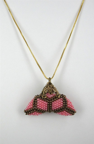 Little Purse Pendant Kit - Pink Diamond