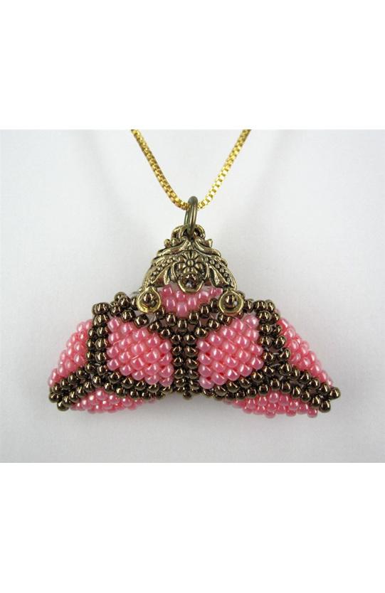 Little Purse Pendant Kit Pink Diamond