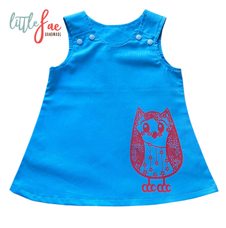 Little Red Owl Pinafore