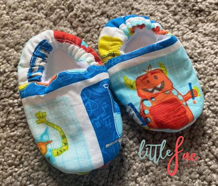 Little Robot Baby Slipper Shoes