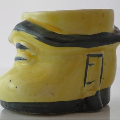 Little shoe-house egg cup