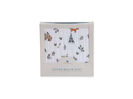 Little Unicorn - Cotton Muslin Quilt Forest Friends