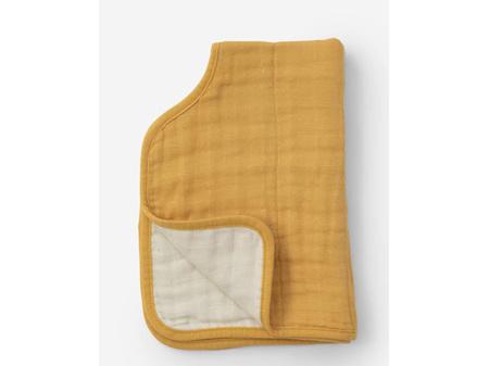 Little Unicorn Muslin Burp Cloth Mustard