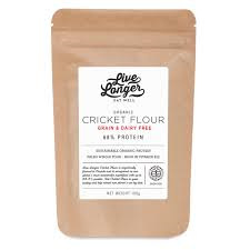 Live Longer Organic 100% Cricket Flour 100g