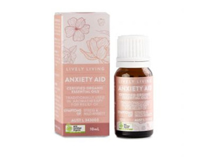 LIVELY LIVING - ANXIETY AID 10ML